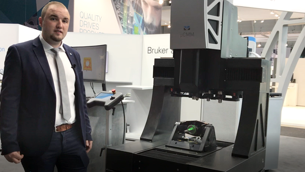 Optical cmm machine at Control Show 2019